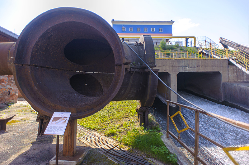 «тройник» главного водовода XIX века