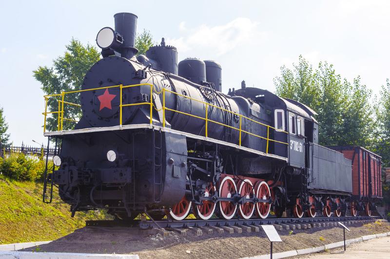 паровоз серии «Э» образца 1912 года